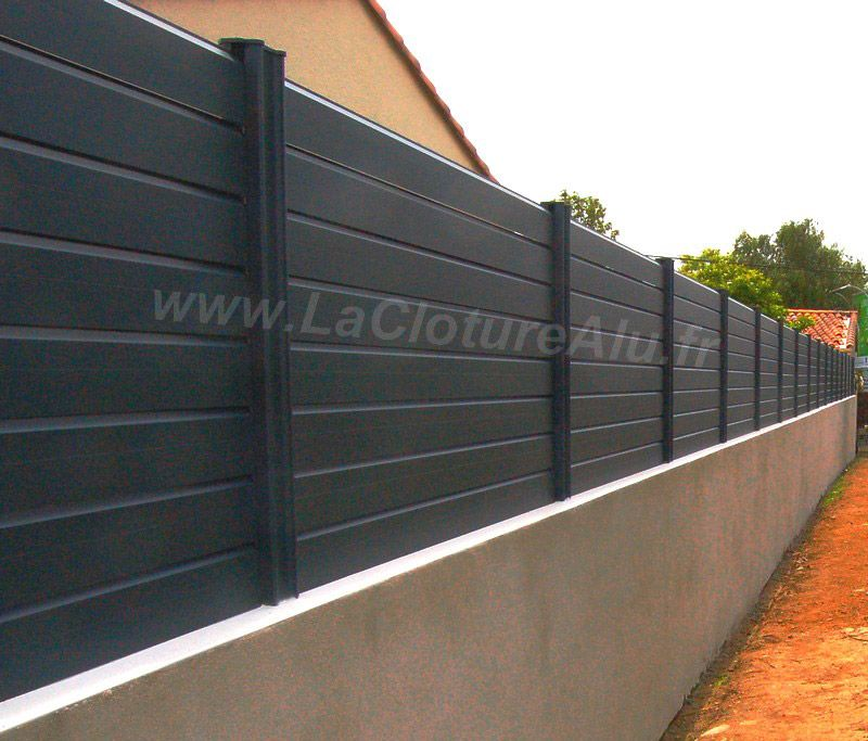 Brise Vue En Aluminium Claustra Exterieur Cloture Maison Panneau Brise Vue