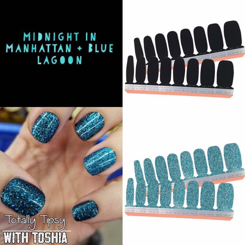 Blue Lagoon Nails Manicure Nails