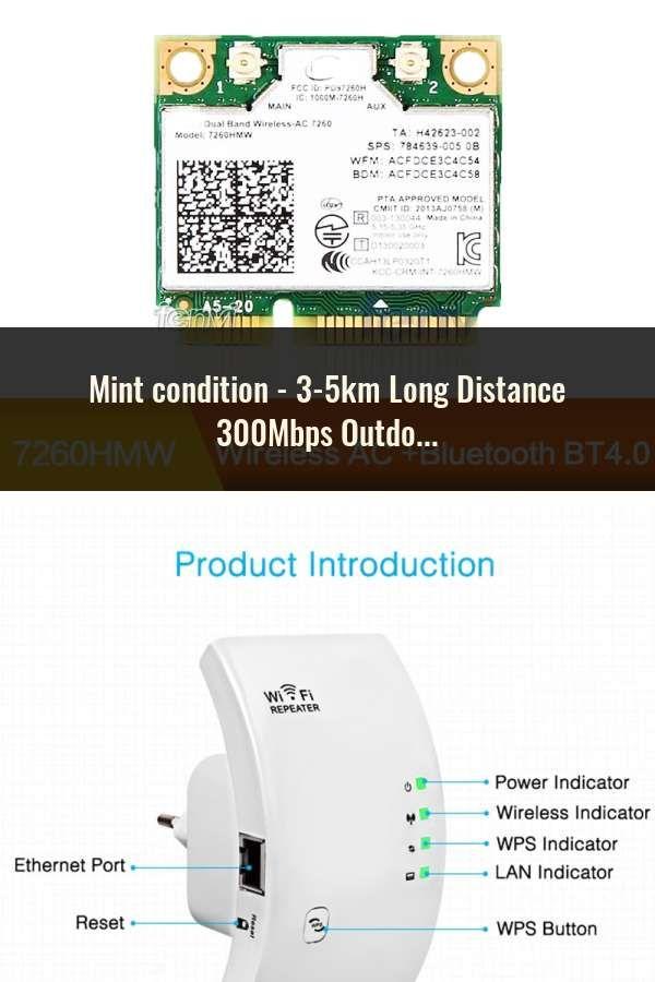 3 5km Long Distance 300mbps Outdoor Wifi Router Cpe 2 14dbi Wifi Antenna High Power 2 4g Wifi Repeater Rj45 Poe Wireless Bridge En 2020
