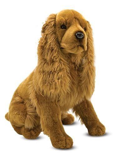 Melissa Amp Doug Toys Cocker Spaniel Large Plush Dog