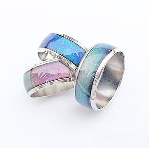Mood Ring Changing Colors By Emotion Feeling 16 20 Mm