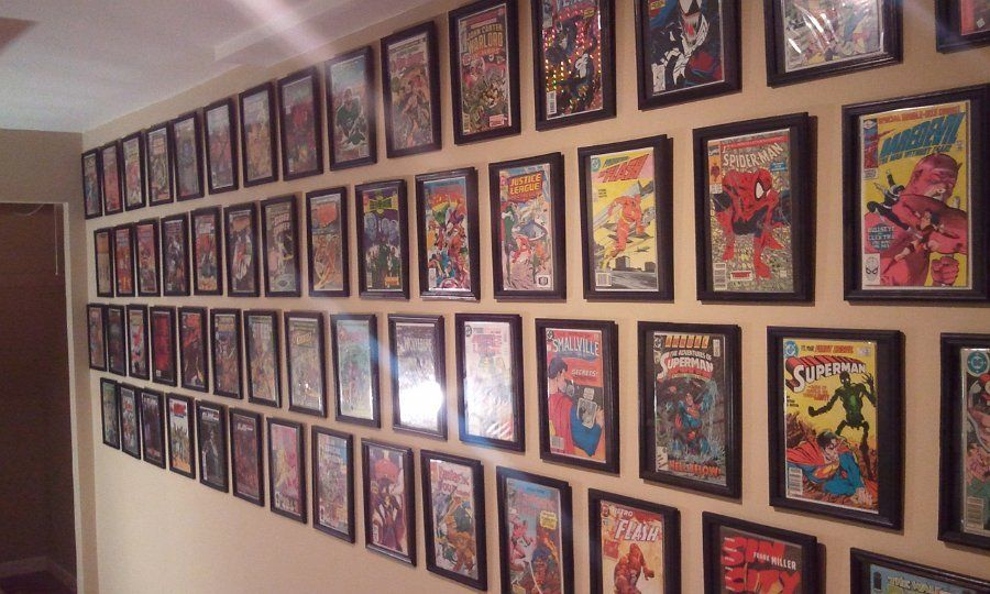 The cheap $1 Dollar Store comic book frame hack, using a document ...