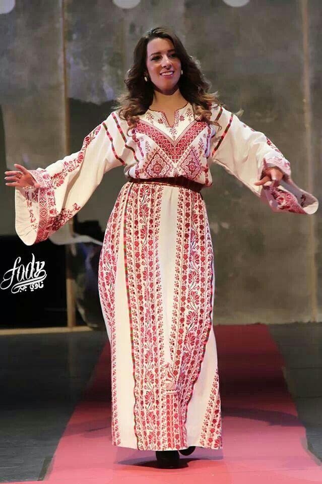 Beautiful! | Trajes | Pinterest | Bordado palestino, Vestidos ...