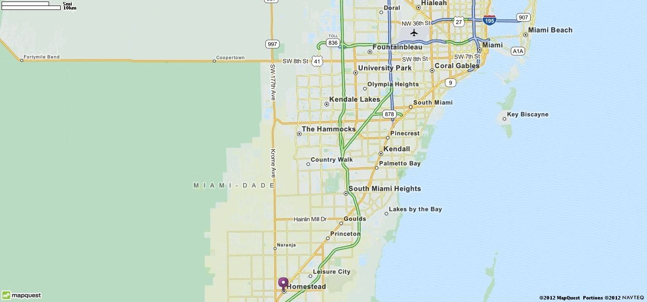 Map Of Homestead Florida.Homestead Fl Map Mapquest Setting For Flush By Carl Hiaasen