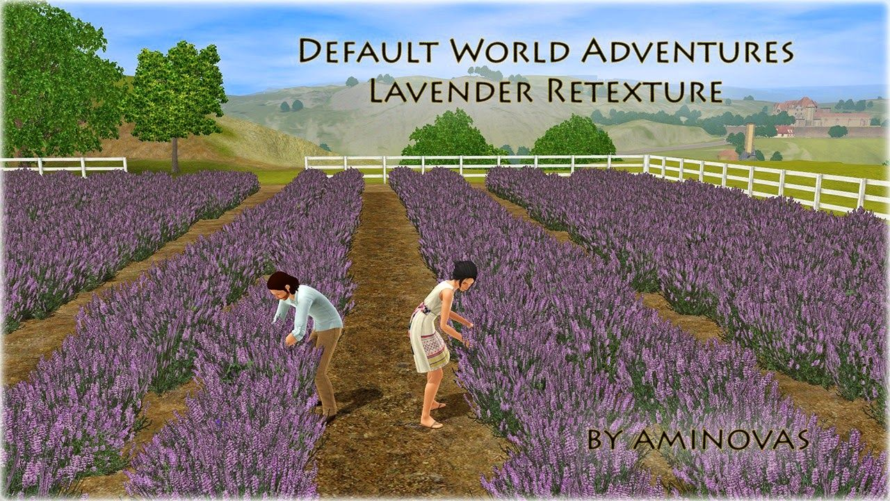 my sims 3 blog world adventures lavender default retexture by ami sims sims 3 mods sims 3
