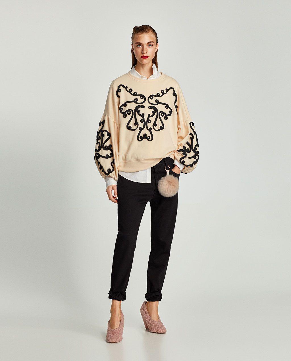 SUDADERA CINTAS CONTRASTE | QUE ME PONGO? | Sudaderas, Zara y Moda
