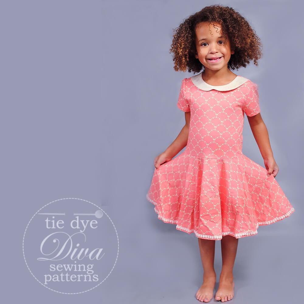 Garnet Dress, Top, and Skirt Pattern - Knit and Woven ...