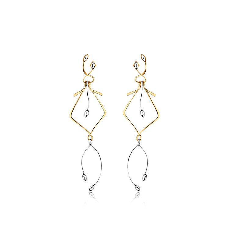 c7cd6c33ff592 Wish Bone Earrings - - Accessories | LOUIS VUITTON | Extra ...