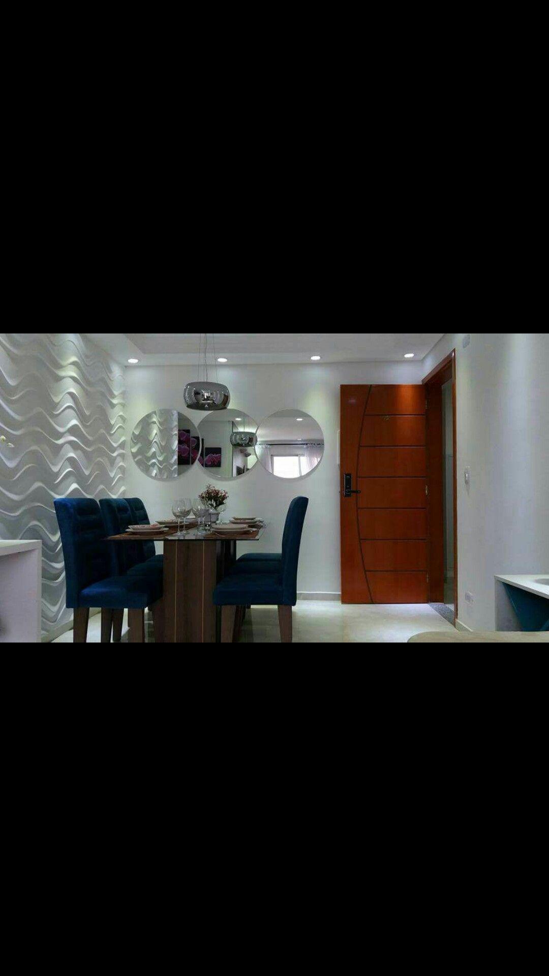 Sala De Estar Mrv Inspira O Apartamento Pinterest Mrv Sala  -> Papel De Parede Sala Mrv