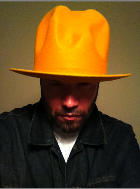 i took this of him wearing his vintage Vivienne Westwood buffalo hat ... 0b196d3abc8
