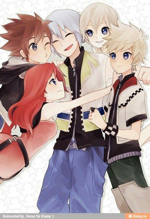 Kingdom Hearts Namine And Kairi Anime Kingdom Hearts-Kairi,S...