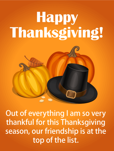 Pin On Thanksgiving Cards For Friends