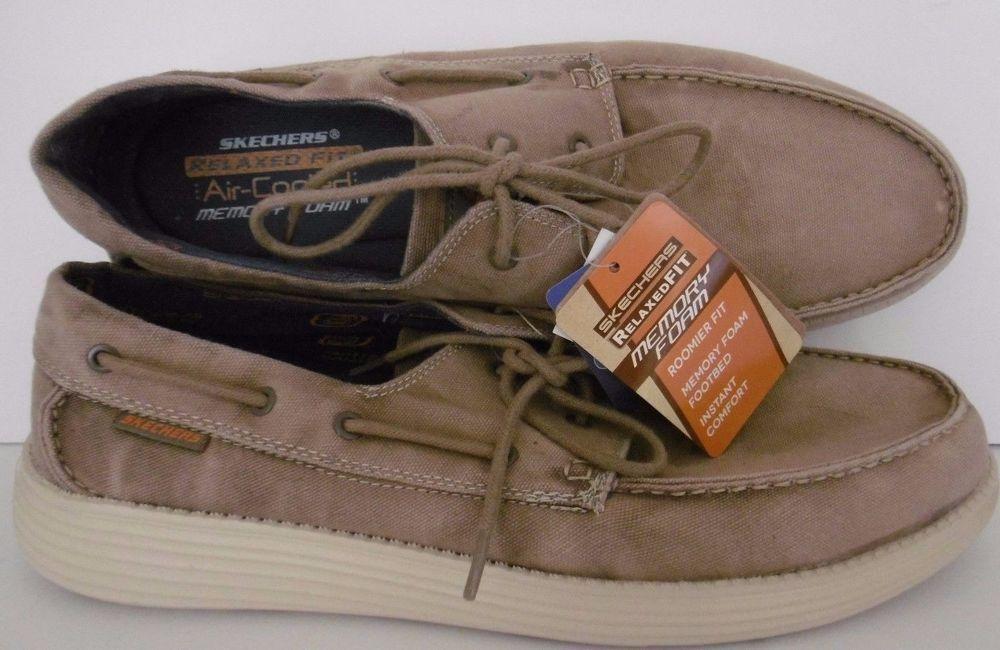 skechers memory foam shoes for men