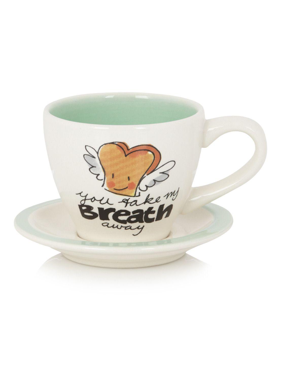 Blond Amsterdam Espresso kop en schotel Blondelicious
