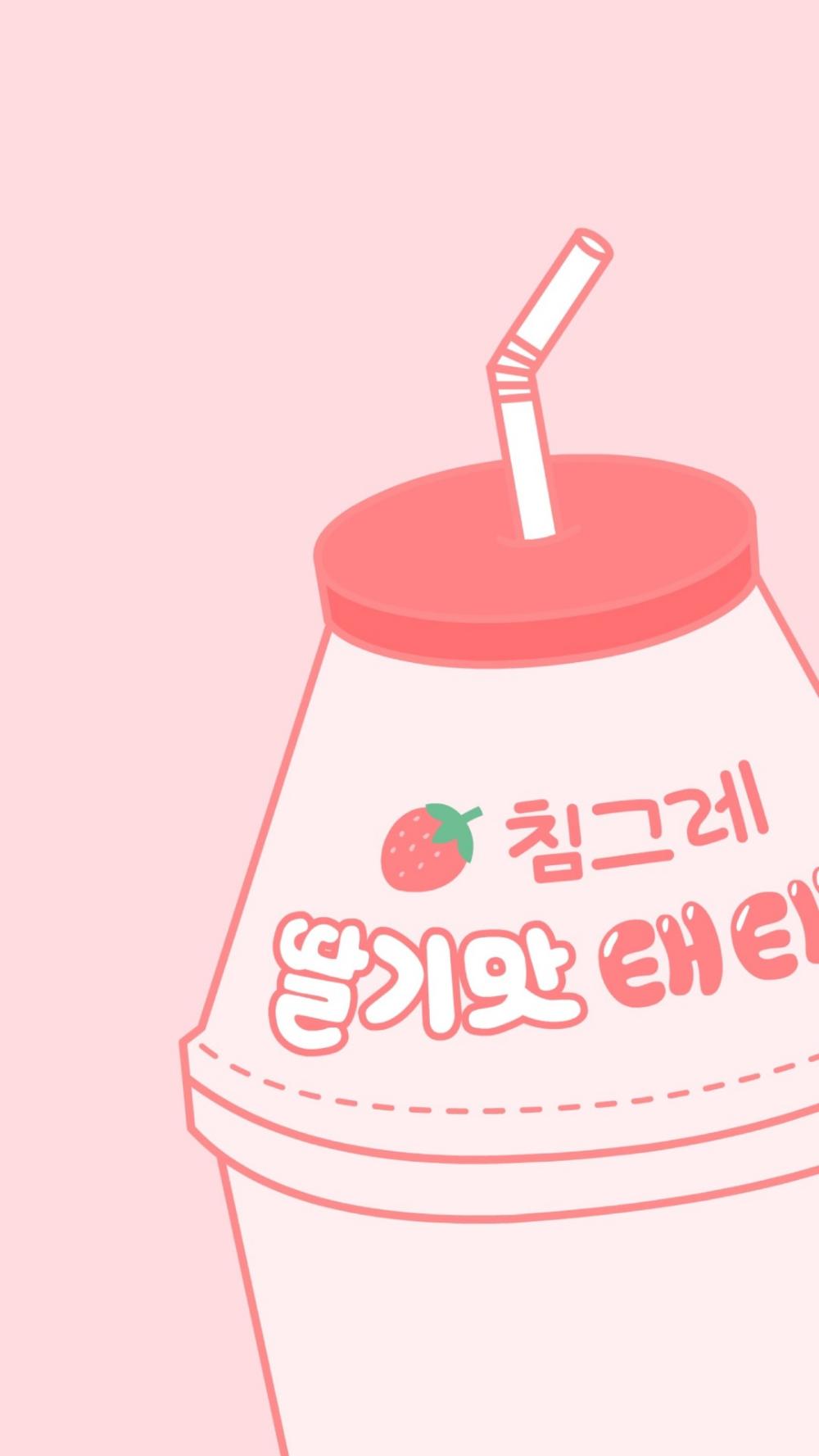 Molang Cute Korean Bunny Iphone Mobile Phone Wallpaper Kawaii Doodles Iphone Cartoon Kawaii Wallpaper