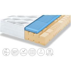 Artone Kaltschaum-Mattress Thermo Gel Ks - white - 140 cm - 24 cm - Mattresses & lattices> Mattress