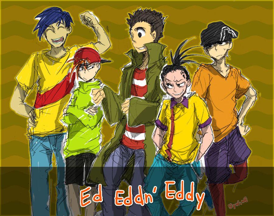 ed edd and eddy anime | Ed Edd n' Eddy by ninevsnine on ...