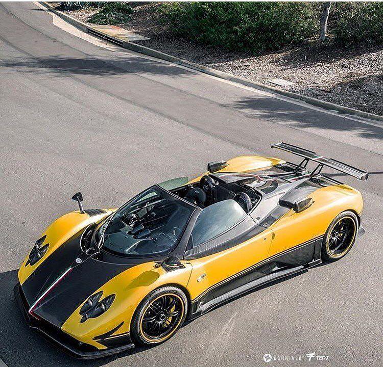 Pagani Zonda Cinque Roadster Cars Of My Dreams Pinterest