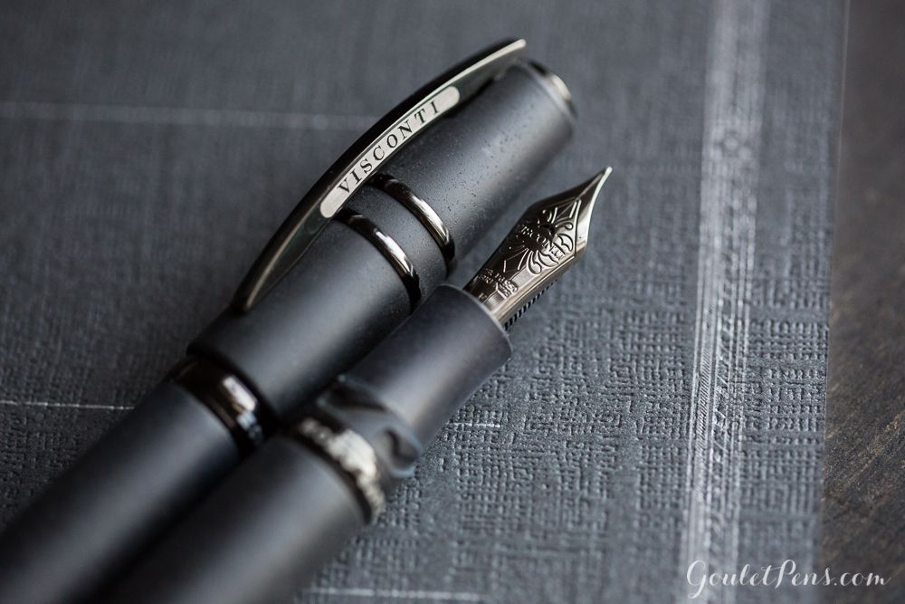 Stealth Black ! Kugelschreiber Monteverde Invincia