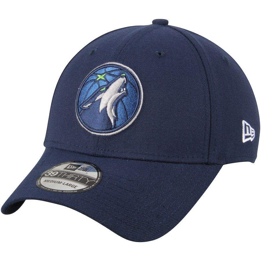 online retailer 287eb b52a2 Men s Minnesota Timberwolves New Era Navy Team Classic 39THIRTY Flex Hat,  Your Price   29.99
