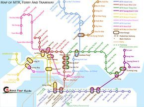 Hong Kong Attraction and Transport Maps thailand Pinterest