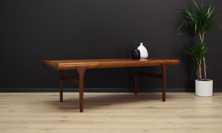 Johannes Andersen Coffee Table Teak 1960 1970 Table Teak Furniture