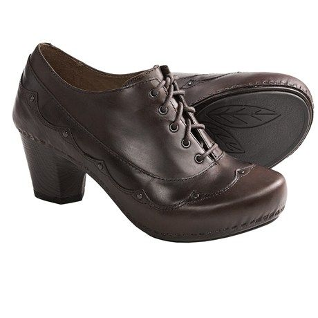 Dansko Nell Leather Shoes - Lace-Ups