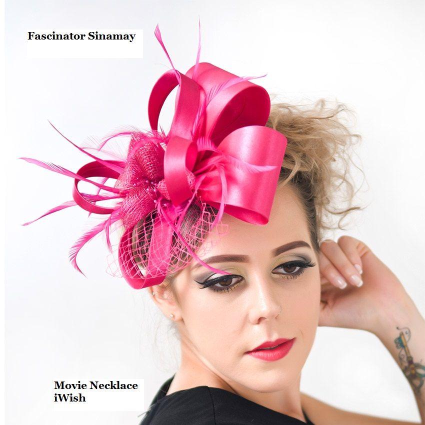 fd707e77 Click to Buy << Brand Vintage Elegant Women Satin Sinamay Fascinators  Wedding Party Headband Bride Fascinator Hat Hairclip Hair Accessories  #Affiliate