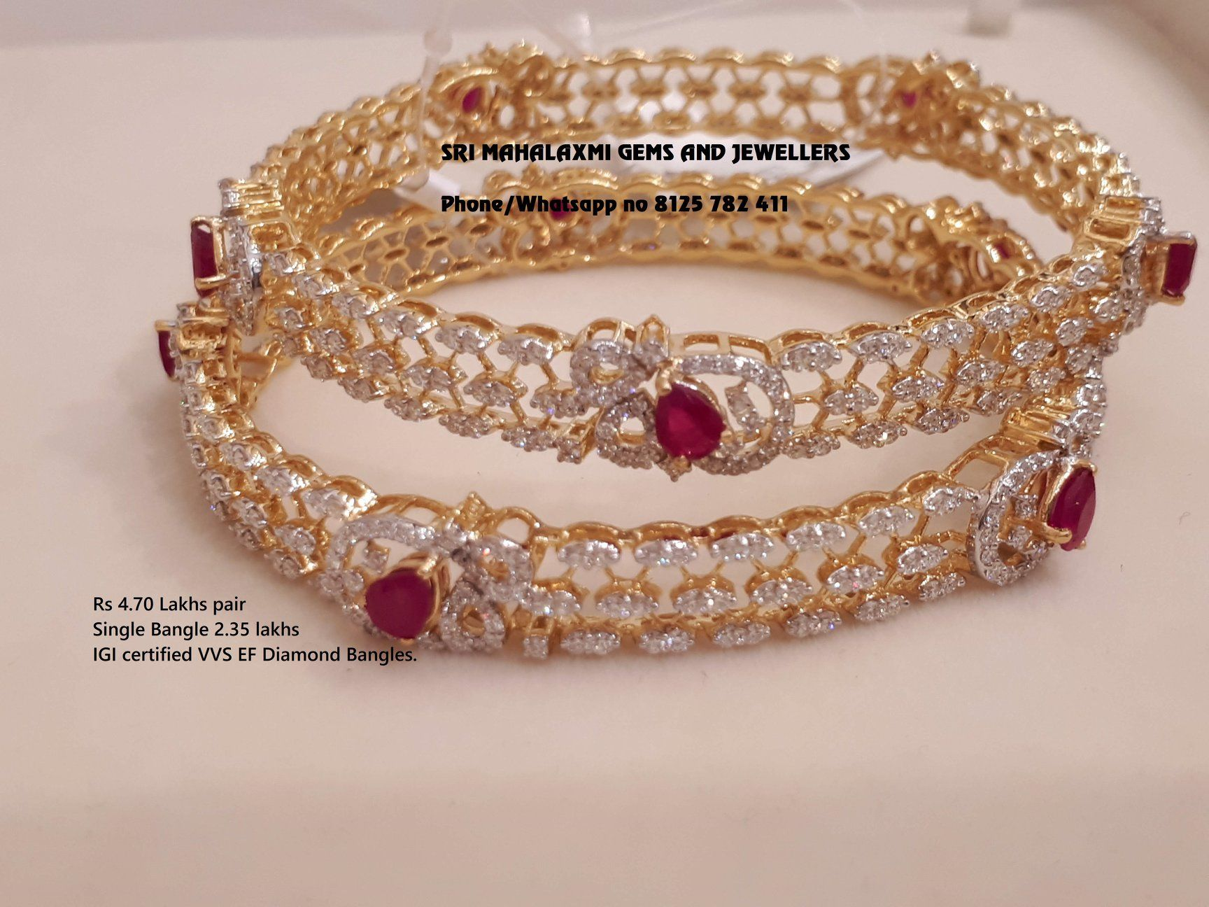 66da1b64a7 Sri Mahalaxmi Gems and Jewellers always quote the total price of ornament .  Presenting a very