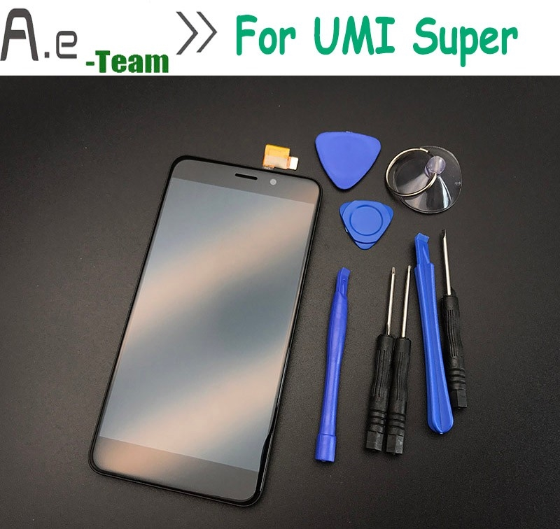(36.09$)  Watch more here  - High Quality For Umi Super  Screen LCD Display +Touch Screen Replacement For Umi Super Smartphone +Tools