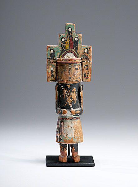Hopi <i>Hemis</i> Katsina (3/25/2011 -  American Indian & Western Art)