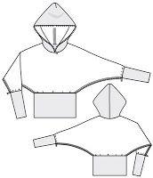 Chaqueta con capucha y abrigos patrón para descargar | EL BAÚL DE LAS COSTURERAS