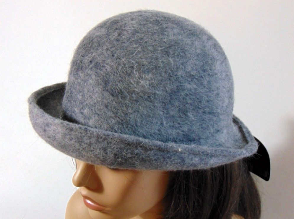 Sombrero mujer gris loden  9bc8109a4bc