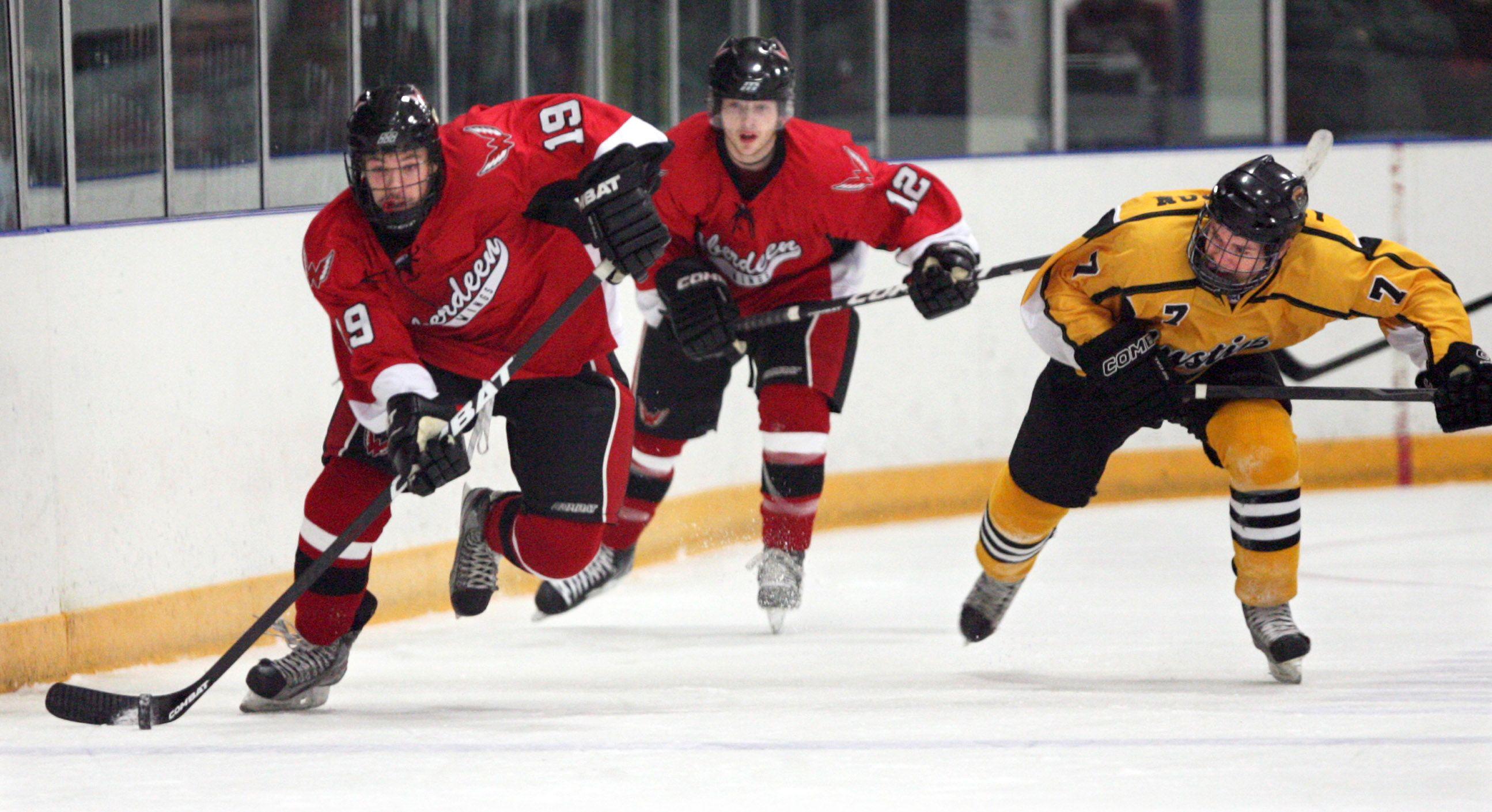 Amateur dakota hockey south