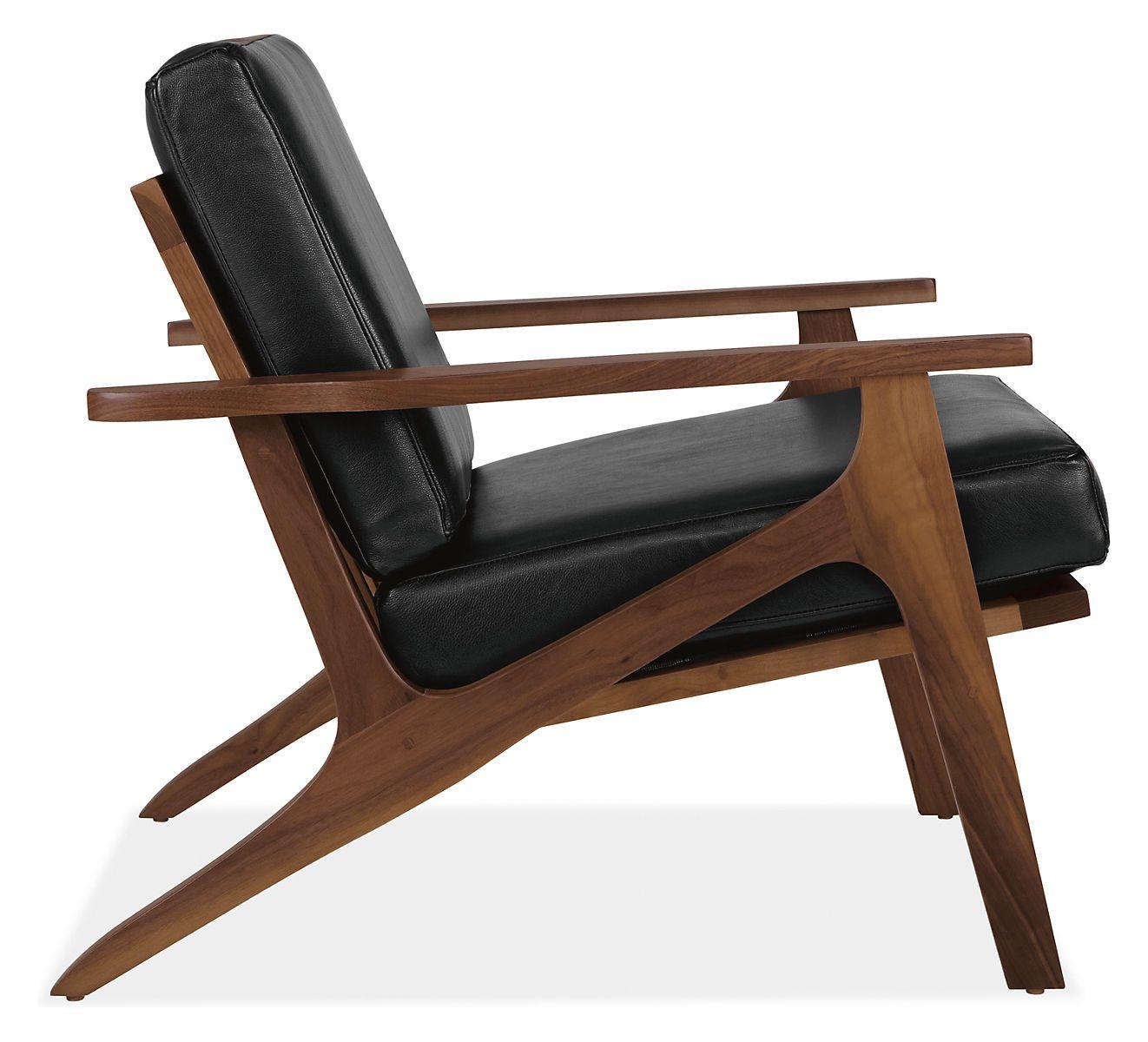 Merveilleux Sanna Leather Chair