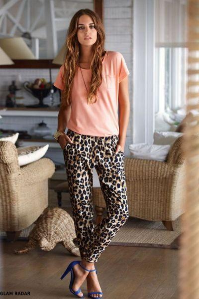 5e9212ded2eab Leopard Print Trousers | Fashion inspo | Fashion, Leopard print ...