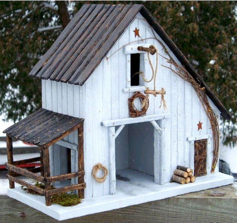 46+ COOL CREATIVE BIRD HOUSE IDEAS FOR BEAUTIFUL YARD #birds #birdhouses #birdhouseideas #birdhouses