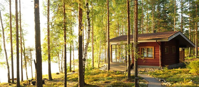 Bildergebnis für lakeside cottage finnland