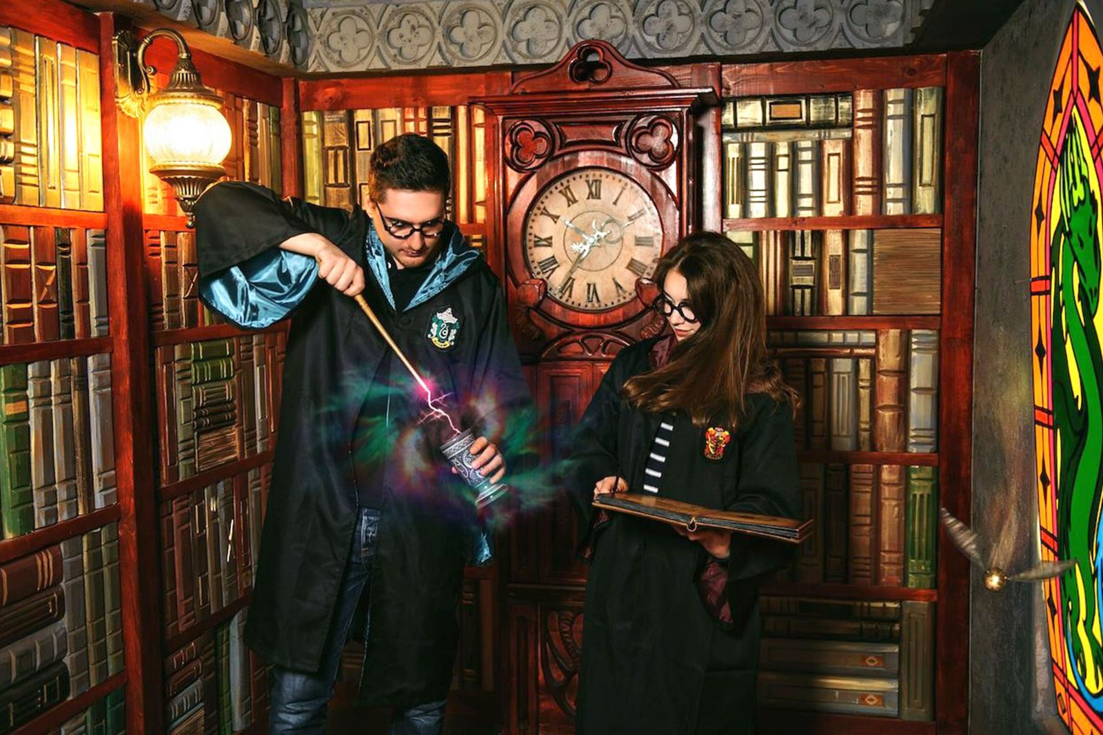 There's a 'Harry Potter'Themed Escape Room, and We