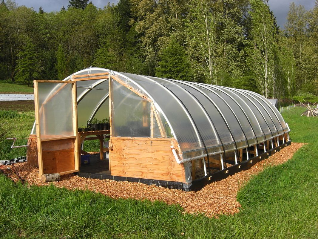 how to build a simple hoop greenhouse pvc pipe and plastic - Diy Pvc Greenhouse Plans