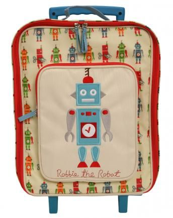 Trolley ROBBIE THE ROBOT in creme
