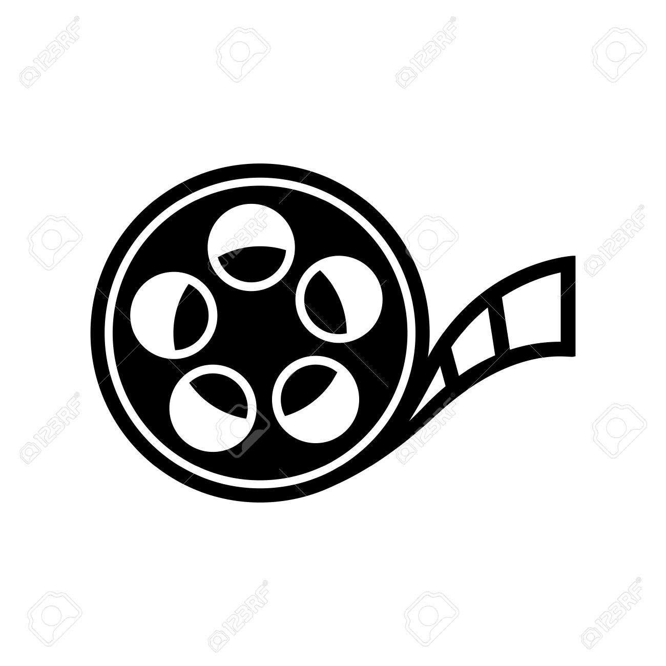 Film Reel Icon Aff Film Reel Icon Film Reels Presentation Templates Creative