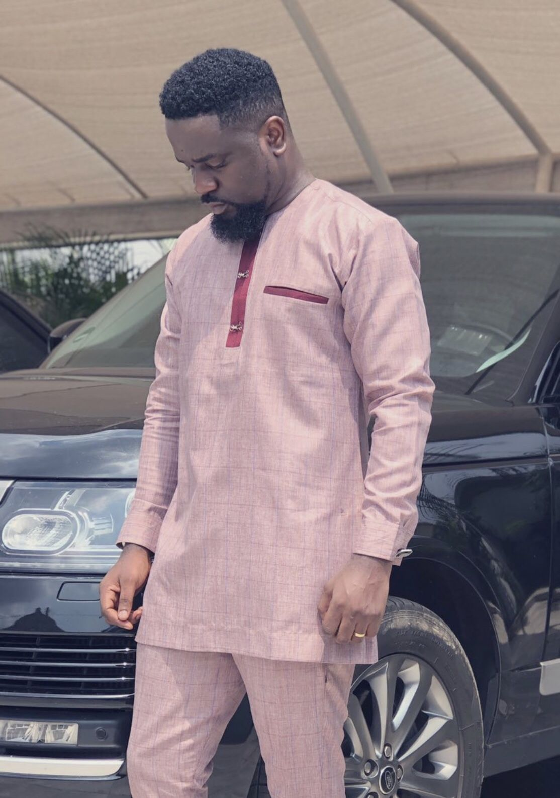 Style inspiration by Sarkodie | African print fashion, African ...