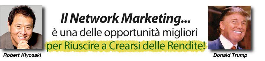 Il network marketing è un'opportunità? Esistono dei vantaggi reali? Quali sono? In cosa consiste questa che possiamo definire un vera e propria professione?
