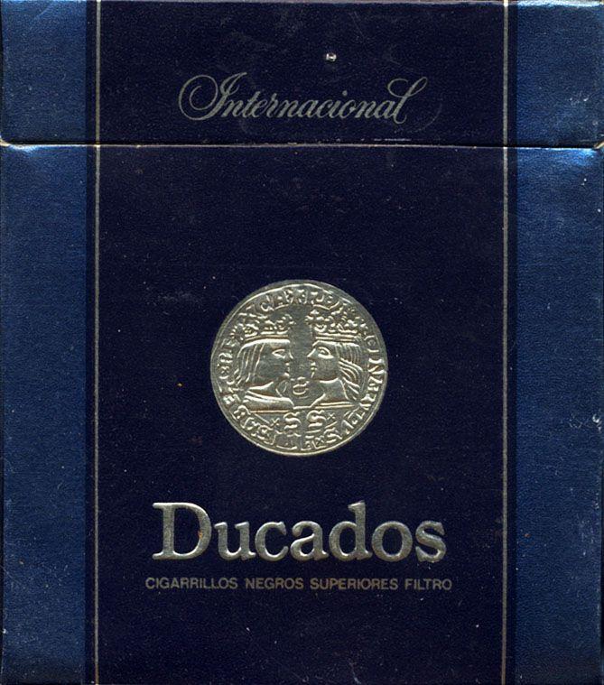 Ducados International Cigarrillos Negros Cigarros Negros