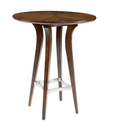 Micah Mid Century Modern Pub Table X Tables Etageres - Mid century modern pub table