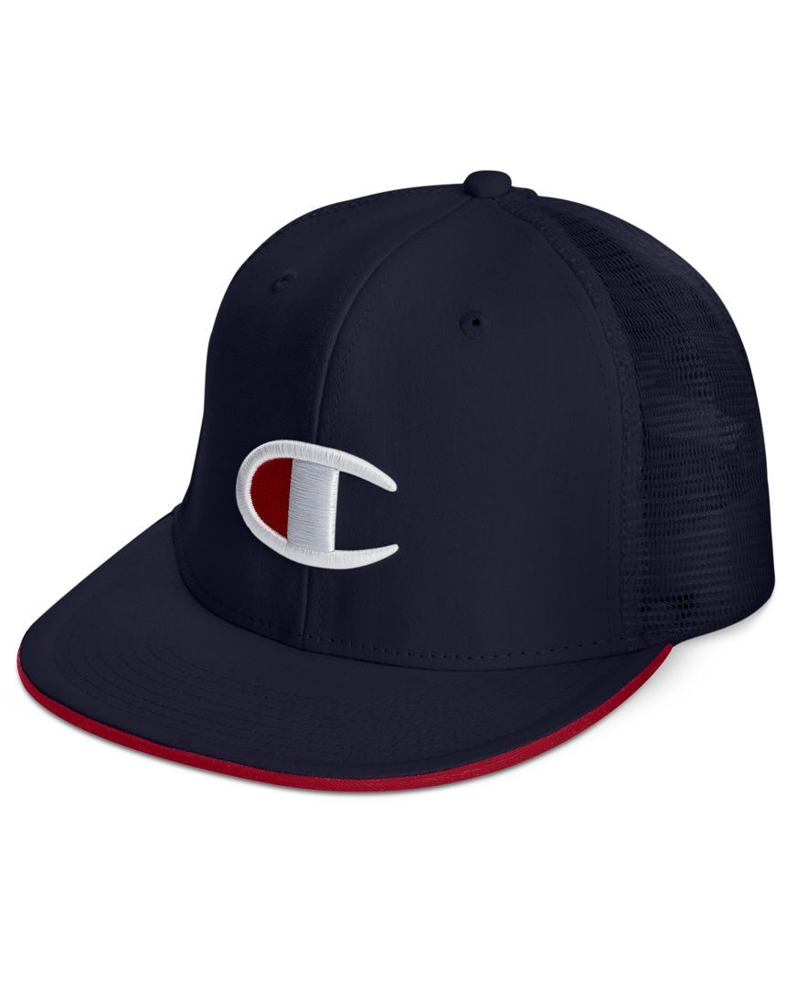 f575dc48d65 Champion Men s Logo Snap-Back Baseball Cap