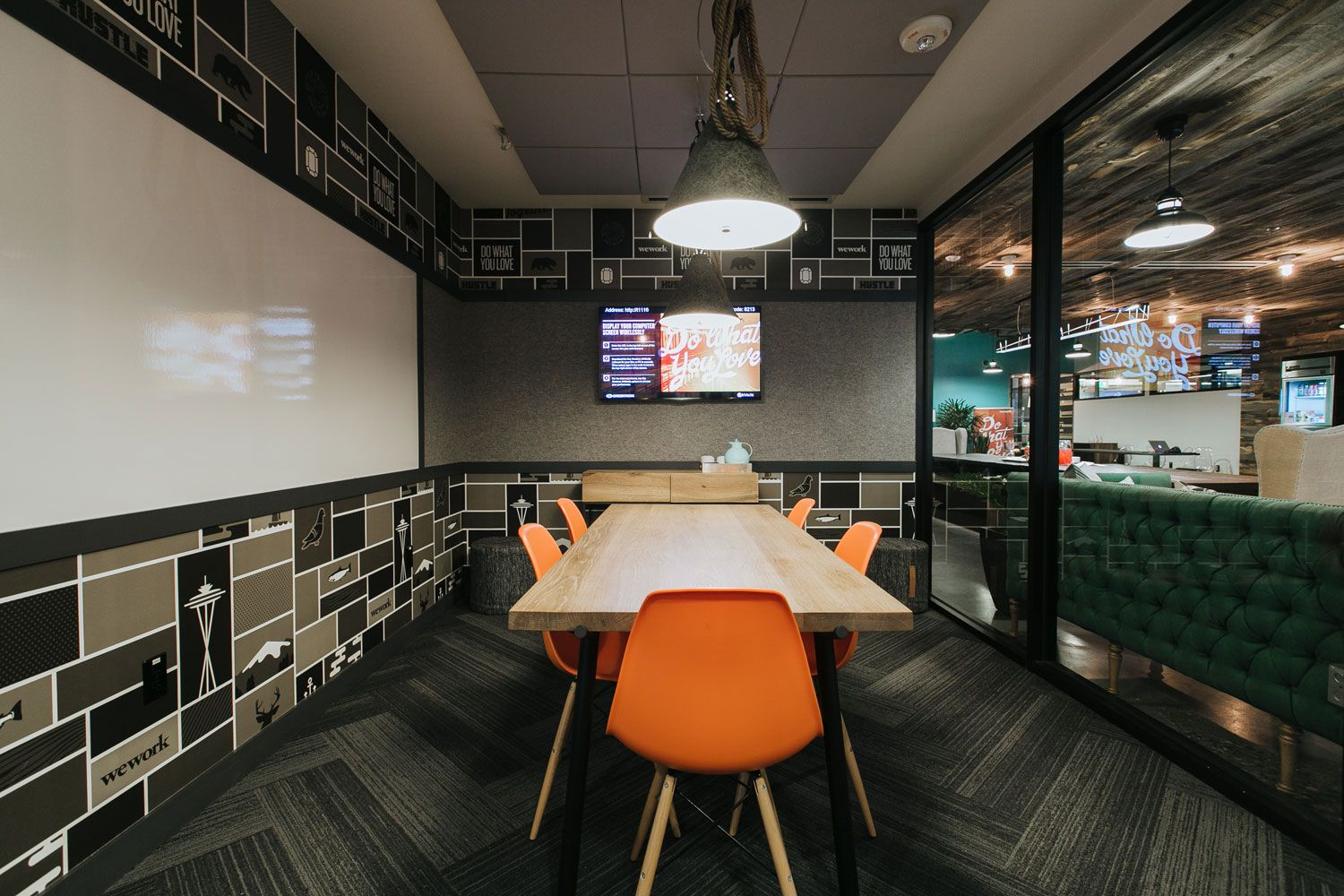 Wework Seattle S South Lake Union Officelovin Corporate Interiors House Made Office Interiors