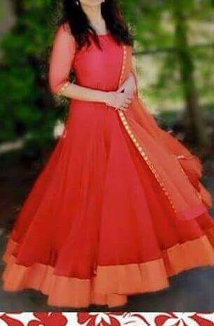Simple Indian Gowns Dresses Dresses Simple Anarkali