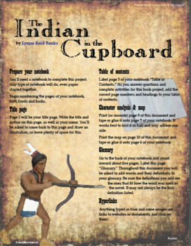 This Book Project Is Designed To Be Used With A Computer Or Tablet Perfect For Chromebooks And Ipads Indian In The Cupboard Summer School Activities Cupboard